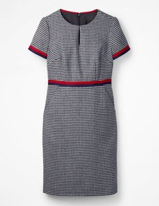 Read more about Adelaide tweed dress navy women boden navy