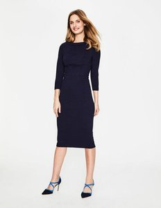 Read more about Marisa ottoman dress navy women boden navy