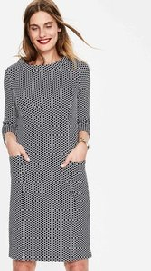 Read more about Sarah jacquard dress navy women boden navy