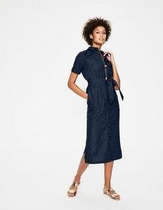 Read more about Tie waist shirt dress navy women boden navy