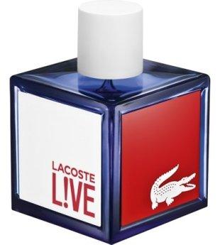LACOSTE LIVE POUR HOMME eau de toilette vaporizador 40 ml