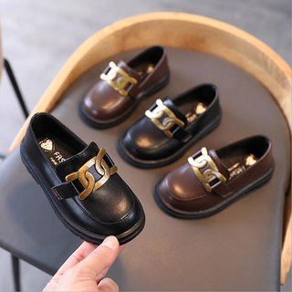 Spring Autumn Girls Leather Shoes