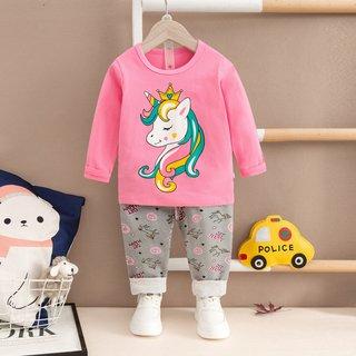 Unicorn Kids Pyjamas Christmas Autumn