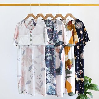 spring and summer ladies nightdress
