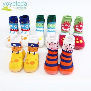 baby girls slippers anti-slip foot