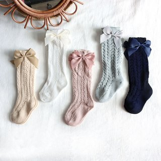 Summer Baby Socks With Bow Toddlers