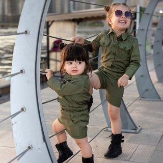Toddler Kids Baby Girls Overalls