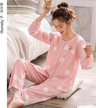 suo zhi mian Gauze Pajamas WOMENS