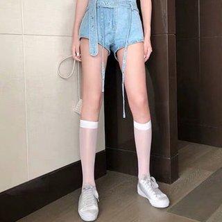 Summer Ultra-thin Socks Silk Knee Socks