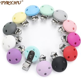 TYRY.HU Round Shaped Pacifier Clip