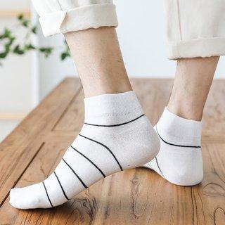 Striped Socks Male Socks Pure Cotton