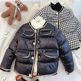 Winter Girls Parka Kids Coat Baby Parka