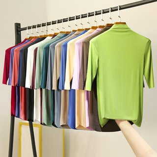 spring and summer modal Korean t-shirt