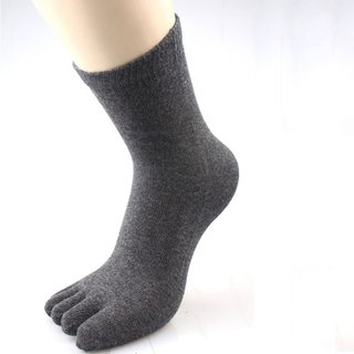 Unisex Cotton Toe Socks Men Women