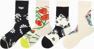 Women Cotton Socks Funny Cute Cartoon