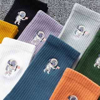 Spring and summer couple socks solid