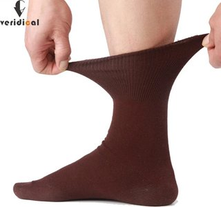 Veridical 5 Pairs/Lot Men Socks Cotton