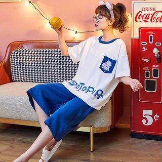 Womens Pajamas Summer Pure Cotton Thin