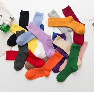 Womens Socks Solid Socks Woman Socks