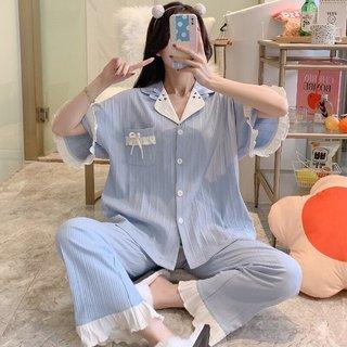 Womens Pajamas Summer Short Sleeve