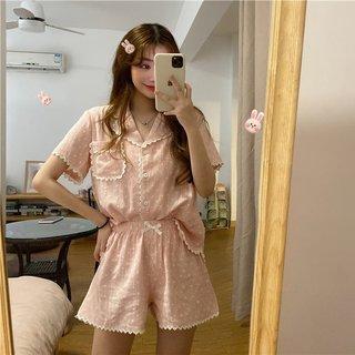 Summer Korean Style Loose Lapels Love