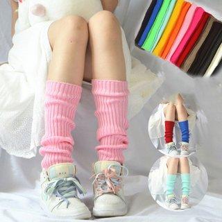Women Leg Warmers Knee Stockings