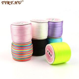TYRY.HU 45 Meters Satin Silk Rope 2mm