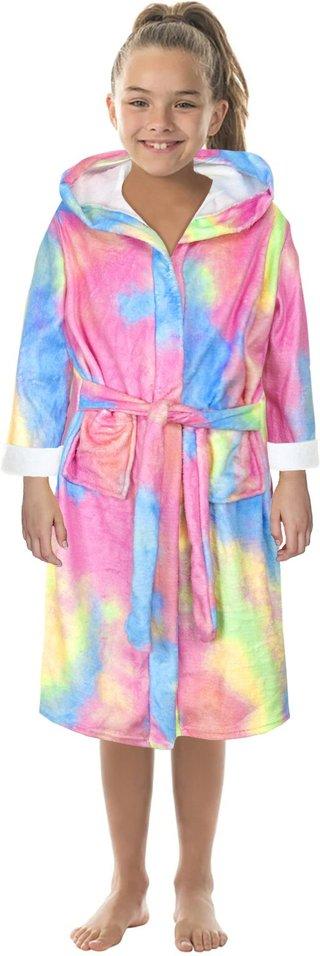Unisex Kids Girls Children Flannel Tie