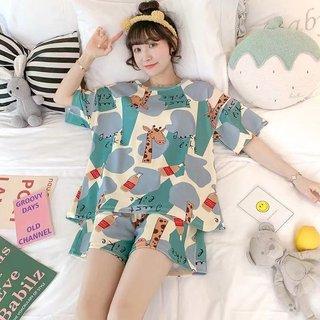 Style Pajamas Ladies Summer Thin Shorts