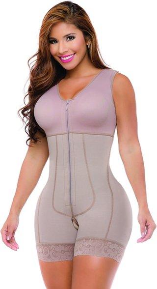 WomenS Middle Zipper Back Split Line