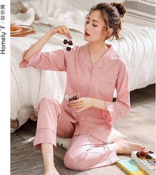 [Mercerized Cotton] Pajamas Womens