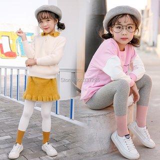 kids girls multicolor contrast color