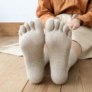 Women Five Finger 100 Cotton Socks