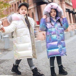 Winter Childrens Down Jacket Girls