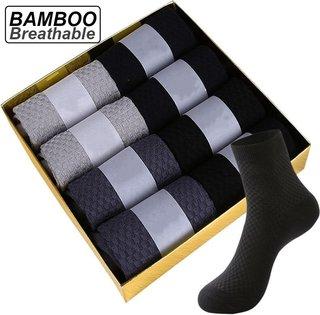 ZTOET Brand Mens Bamboo Fiber Socks