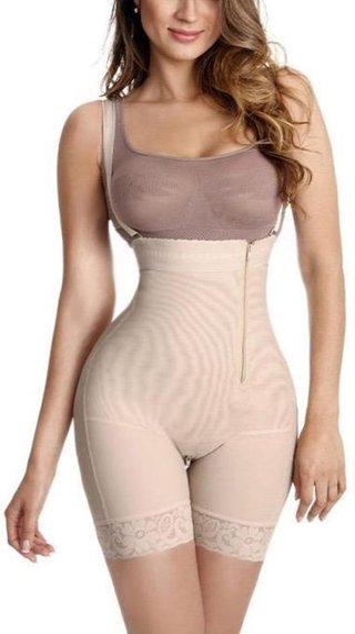 Womens Compression Garment Side Zipper