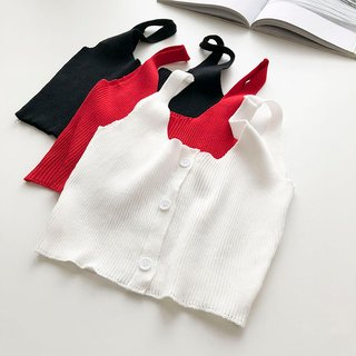 Womens Sleeveless Outer Wear Knitted