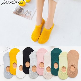 Womens Cotton Invisible No show Socks