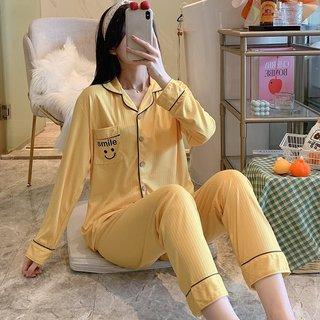 Spring and Autumn Pajamas Womens