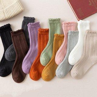 ruffle frilly socks woman kawaii