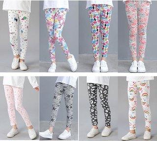 Summer Girls Pants for Children 2-8
