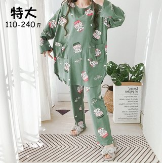 Spring Cute Printed Pullover Long