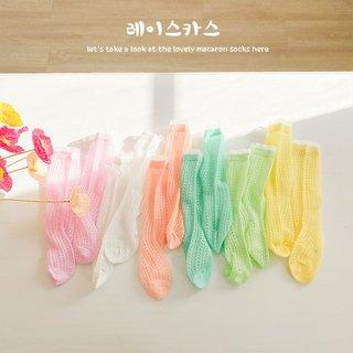 Summer 6 Pairs/lot Baby Girls Socks