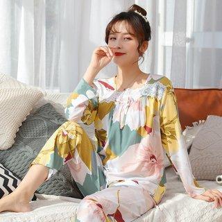 Spring and Autumn Poppin Pajamas Womens