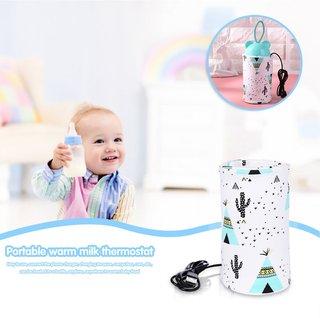 USB Milk Warmer Insulated Bag Baby