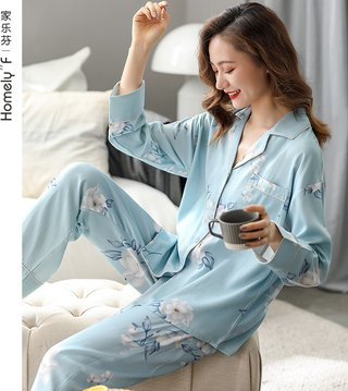[Lycra] Pajamas Womens Spring and