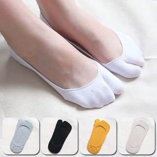 Women White Color Shallow Mouth
