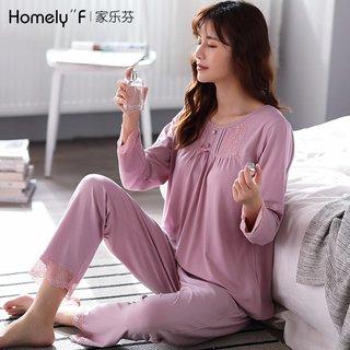 Womens Pajamas Spring and Autumn Long