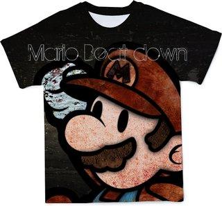 Summer new cartoon boy children Mario