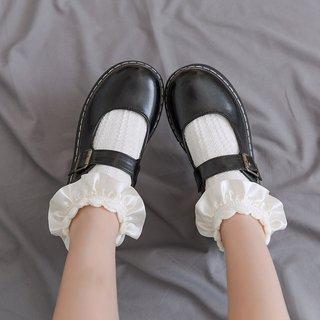Woman Socks Ruffle Socks Lolita Short